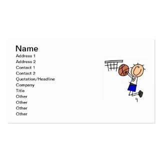 Figura fregadero T-shirs del baloncesto y regalos Tarjetas De Visita