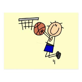 Figura fregadero T-shirs del baloncesto y regalos Tarjetas Postales