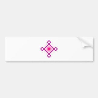 figura geométrica geometric shape pegatina para auto