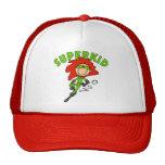 Figura gorra de béisbol del palillo del SuperKid