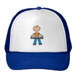 Figura gorra del palillo del teclado