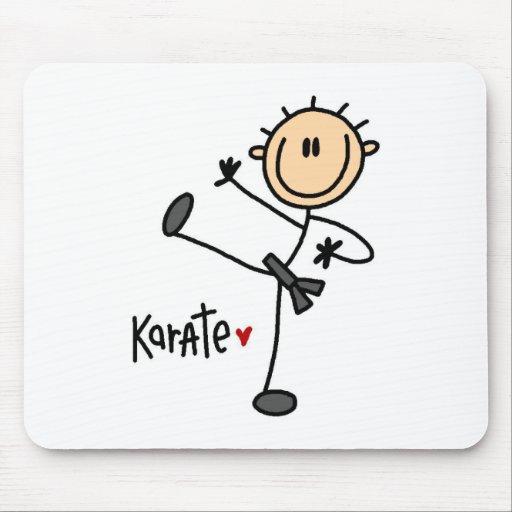 Figura karate Mousepad del palillo