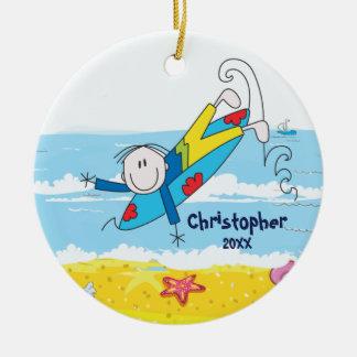 Figura linda ornamento del palillo del navidad del adornos de navidad