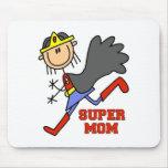 Figura mamá estupenda Mousepad del palillo Tapete De Ratón