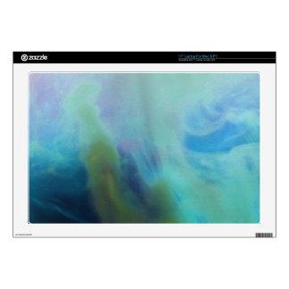 Figura mar del extracto de la sirena del © P Wherr Portátil Calcomanía
