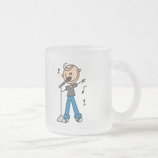 figura masculina camisetas y regalos del palillo taza de cristal
