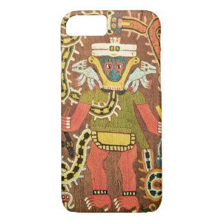Figura mitológica bordada, Paracas Necropoli Funda iPhone 7