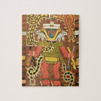 Figura mitológica bordada, Paracas Necropoli Rompecabezas Con Fotos