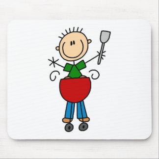 Figura Mousepad del palillo de la barbacoa