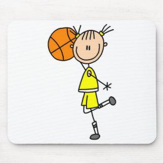 Figura Mousepad del palillo del baloncesto
