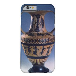 Figura negra amphora del ático que representa a funda barely there iPhone 6
