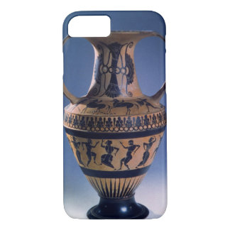 Figura negra amphora del ático que representa a funda iPhone 7