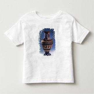 Figura negra amphora del ático que representa a playera de bebé