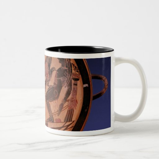 Figura negra kylix tazas de café
