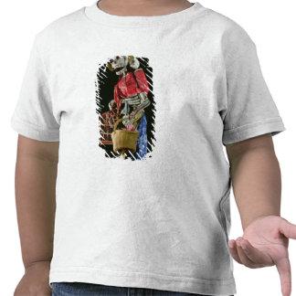 Figura para el día de los muertos camisetas