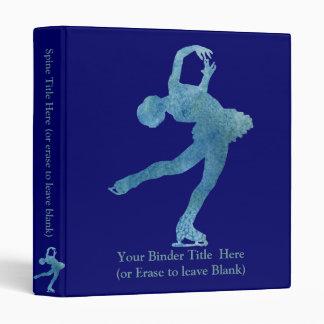"""Figura patinador azul fresca carpeta 1"""""""