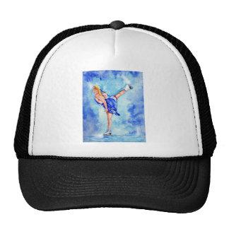 Figura patinador de Dreamz del hielo del patinaje  Gorras