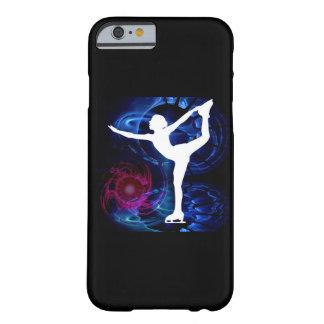 Figura patinador en el hielo del tecnicolor funda para iPhone 6 barely there