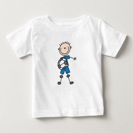 Figura regalos del palillo del uniforme del azul polera