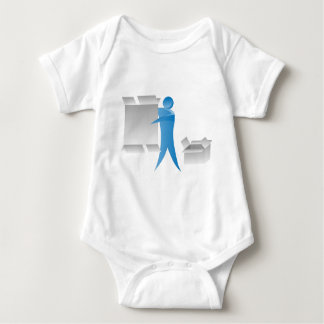 Figura reunidores del palillo del hombre del motor body para bebé