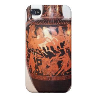 Figura roja amphora del ático iPhone 4/4S carcasa