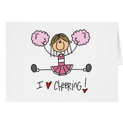 Figura rosada camisetas y regalos del palillo de l felicitaciones