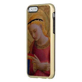 Figura santa cristiana de oro del vintage funda para iPhone 6 plus incipio feather shine
