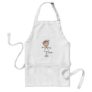 Figura simple camisetas y regalos del palillo de l delantales