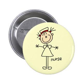 Figura simple camisetas y regalos del palillo de l pin redondo 5 cm