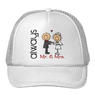 Figura Sr. y señora Always del palillo de los pare Gorro De Camionero