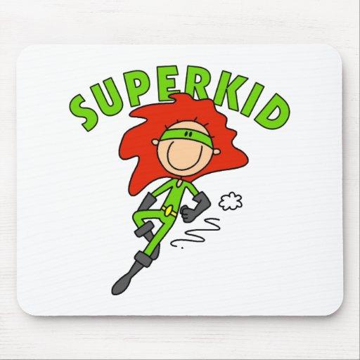 Figura SuperKid Mousepad del palillo Alfombrilla De Ratón