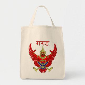 Figura tailandesa mítica bolsa tela para la compra