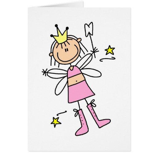 Figura tarjeta del palillo del ratoncito Pérez
