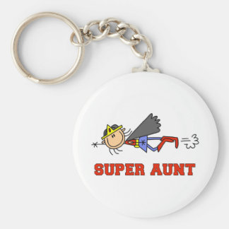 Figura tía estupenda Keychain del palillo Llavero Redondo Tipo Pin