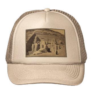 Figuras colosales, el gran templo en Abu Sunbul Gorra