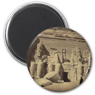 Figuras colosales, el gran templo en Abu Sunbul Imán Redondo 5 Cm