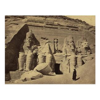 Figuras colosales, el gran templo en Abu Sunbul Postal