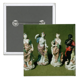 Figuras de la porcelana de Plymouth de los cuatro  Pin