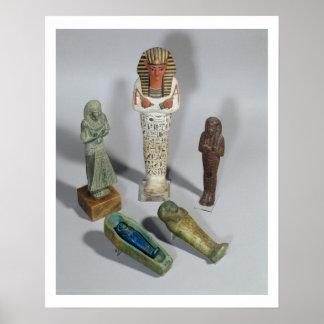 Figuras de Ushabti Impresiones