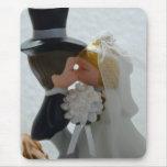 Figuras del boda alfombrilla de ratón