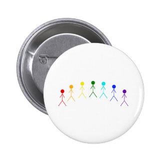 Figuras del palillo del arco iris - 2 pin