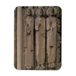 Figuras del viejo testamento, de las aspilleras de iman rectangular