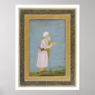 Figuras religiosas musulmanes del pequeño Al de C Poster