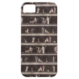 Figuras romanas antiguas obras clásicas escolar o iPhone 5 carcasa