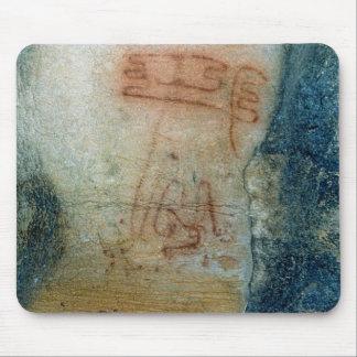 Figuras simbólicas (pintura de cuevas) alfombrilla de ratones