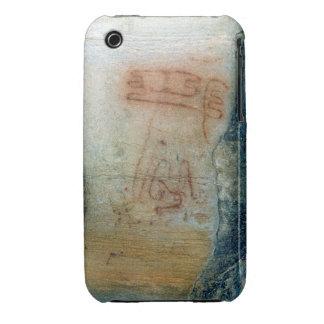 Figuras simbólicas (pintura de cuevas) funda para iPhone 3 de Case-Mate