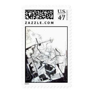 Figurative IIII Postage