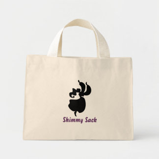 figure3, Shimmy Sack Mini Tote Bag