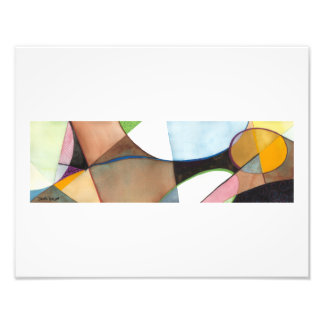 "Figure Abstract Painting - ""Earthly Figure"" Photo Print"