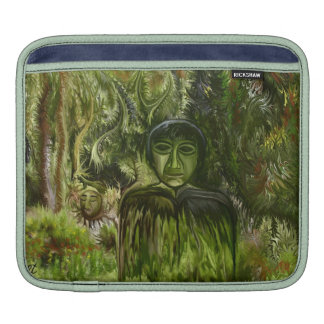 Figure in the Forest by rafi talby Sleeve For iPads